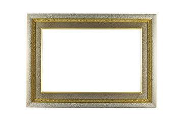 Silver and Gold Frame vintage
