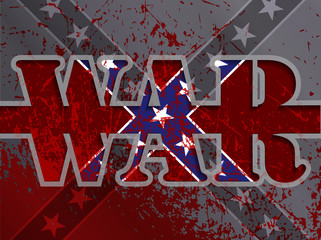 Confederate Flag,the war