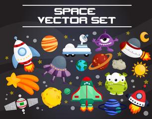 space invader vector set