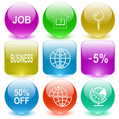 job, library, magnifying glass, business, -5%, 50% OFF, shift gl