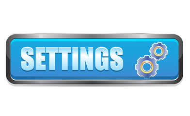 Settings navigation button with gear icon