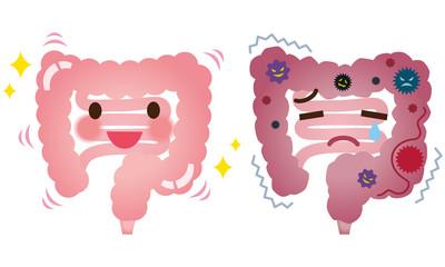 健康な大腸 病気の大腸 大腸ガン