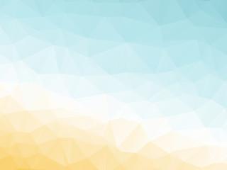 abstract triangular yellow white orange summer background
