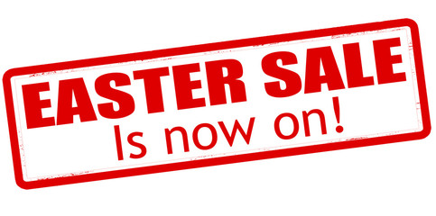 Easter sale is now on