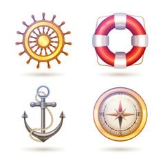 Marine Symbols Set