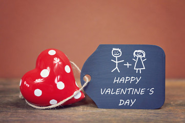 lovely greeting card - happy valentine ´s day