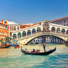 Wall Mural - Rialto Bridge in Venice