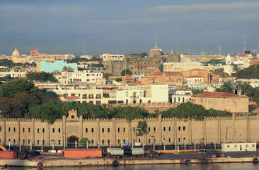 Fortress Osama and colonial quarter. Santo Domingo, Dominicana