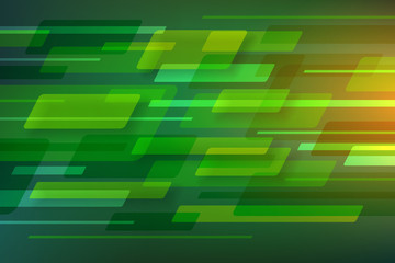 abstract shape green rectangle rhombus background
