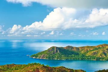 Beautiful landscape at Seychelles