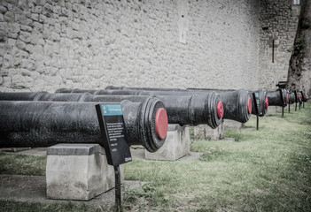 guns of the tower of london