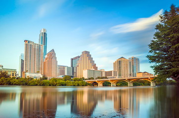 view of Austin, downtown skyline
