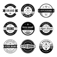 VINTAGE LOGO & BADGES 1