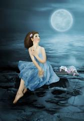 Dreams under the moon