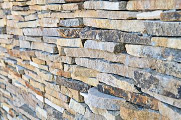 Texture of sandstone perspective view