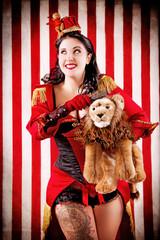 Burlesque Circus Girl