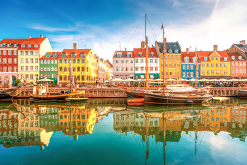 Photo sur Plexiglas Scandinavie Nyhavn Kopenhagen