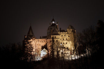 Keuken foto achterwand Kasteel Bran Castle, Transylvania, Romania, known as