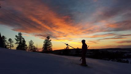 Kanis, swedish slalom mountains