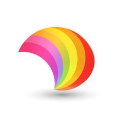 Style Rainbow Shape