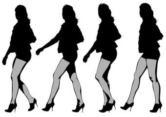 Legs woman