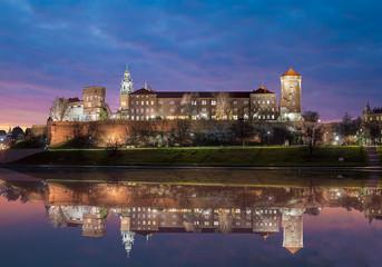 Fototapete - Wawel Royal Castle, Krakow
