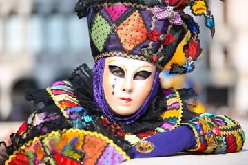 Fotobehang Carnaval carnaval de Venise