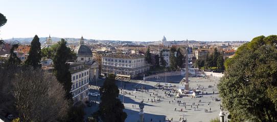 Piazza del Popolo Cityscape - Rome