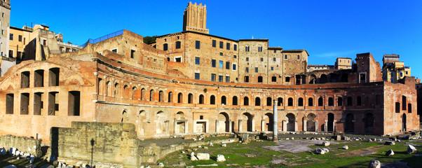 Trajan's Market in Imperial Fora - Rome