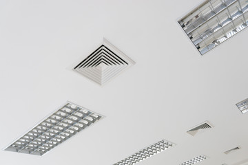 Ceiling ventilation of air condition