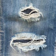 denim jeans blue old torn of fashion design
