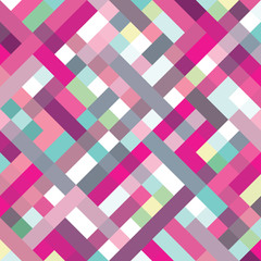 A retro geometric vector background