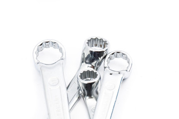 Set of ring end wrenches