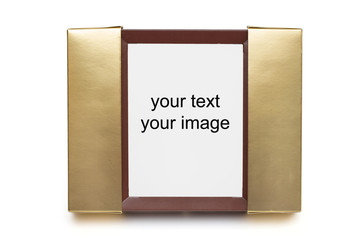 photo Frame on the white background
