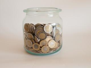 The jar of polish coins