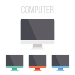 Vector computer icons