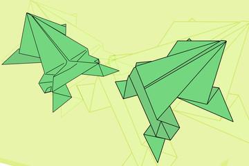 origami rana