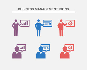 Business Management Icons 1