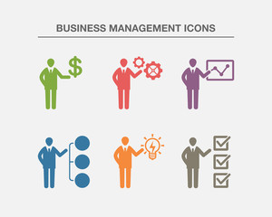 Business Management Icons 2