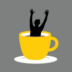 Coffee cup help
