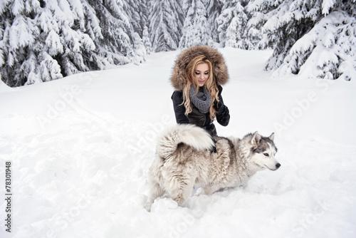 девушка Beeline зима блондинка girl winter blonde загрузить