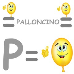 p palloncino