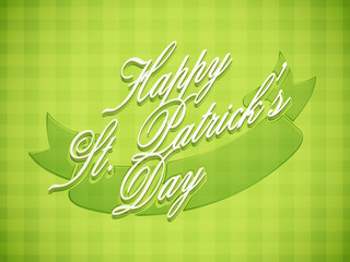 Poster, banner or flyer design for Happy St. Patrick's Day.