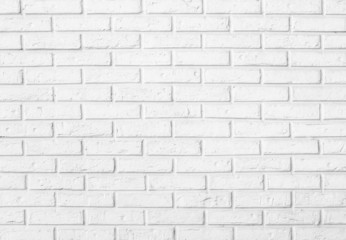 white brick wall pattern background