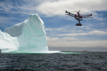 Aerial Iceberg Probe