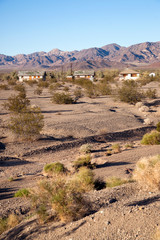 Abamdoned Buildings California Wild West Mojave Desert