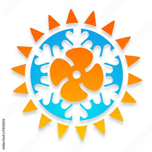 quotlogo climatisation r233versible ventilationquot fichier