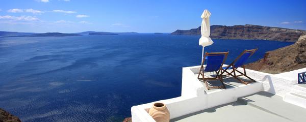 Fototapete - Grèce - Santorin