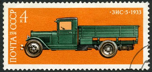 USSR - 1974: shows Zis 5 truck, 1933