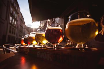 Flight of six Beers for Tasting
